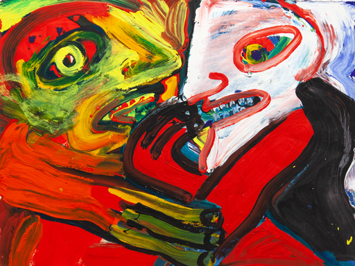 Bengt LINDSTRÖM - Peinture - Face à face