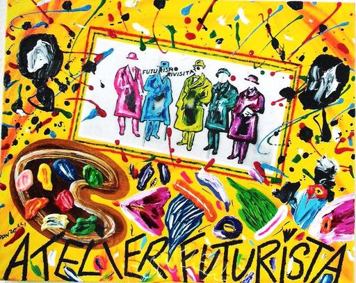 Bruno DONZELLI - Peinture - ATELIER FUTURISTA