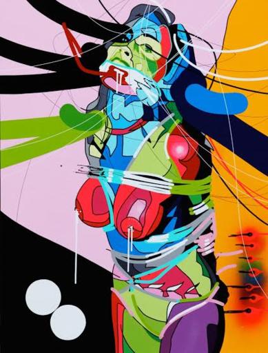 Cédrix CRESPEL - Painting - Lace