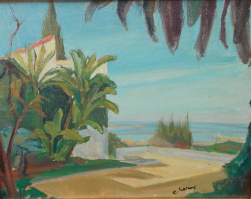 Camille LEROY - Pintura - Paysage orientaliste