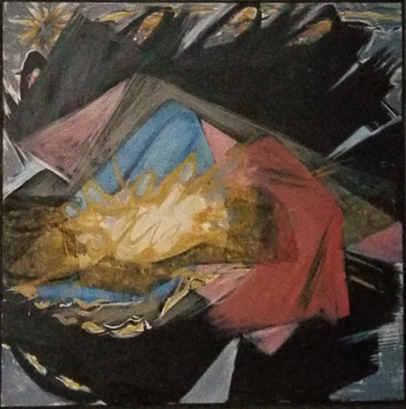 Michel SOUTRA - Pittura - Nativité