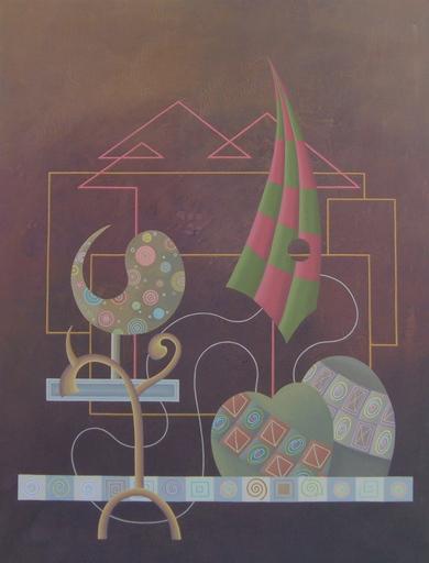 Enrique Rodriguez GUZPENA - Painting - Código secreto