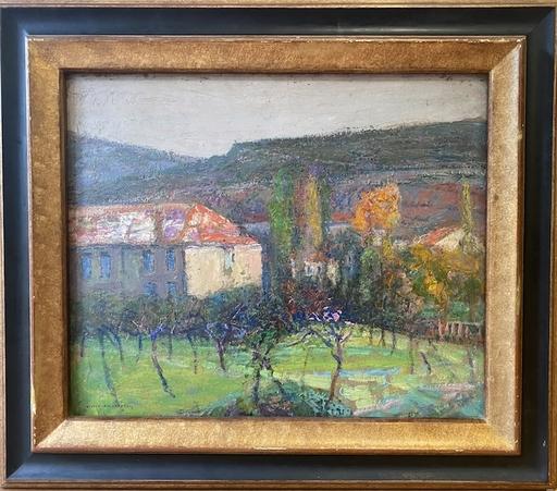 Victor CHARRETON - Gemälde - Paysage