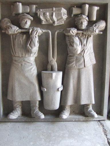 Joachim COSTA - Sculpture-Volume - Les metallurgistes