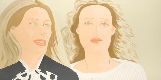 Alex KATZ - Print-Multiple - Julie and Alexandra