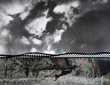 Roy LICHTENSTEIN - Estampe-Multiple - Fish and Sky
