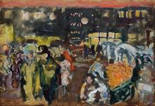 Pierre BONNARD - Painting - Boulevard de Clichy