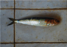 Riccardo GIRAUDO - Painting - Pesce