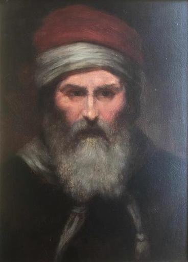Kálmán DERI - Painting - The Mamluk