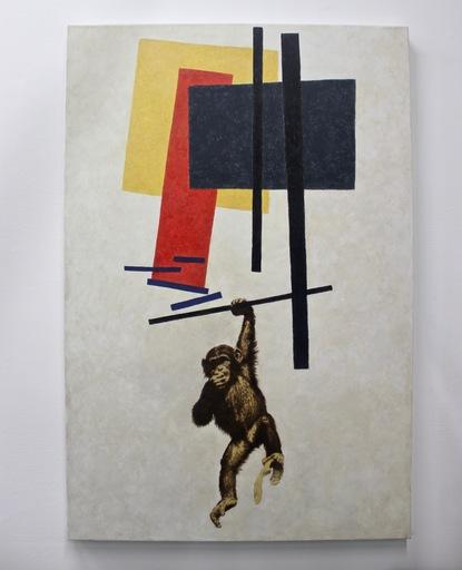Vladimir KOLESNIKOV - Painting - Untitled (Suprematism)