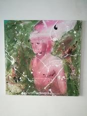 Fabien BOUGUENNEC - Peinture - The God of Limbo