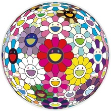 Takashi MURAKAMI - Print-Multiple - Flowerball: Open your Hands Wide