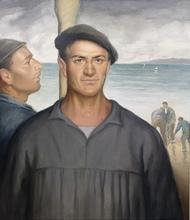 Rafael PEÑUELAS - Painting - Marinero