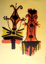 Wifredo LAM - Grabado - Pour Jorn