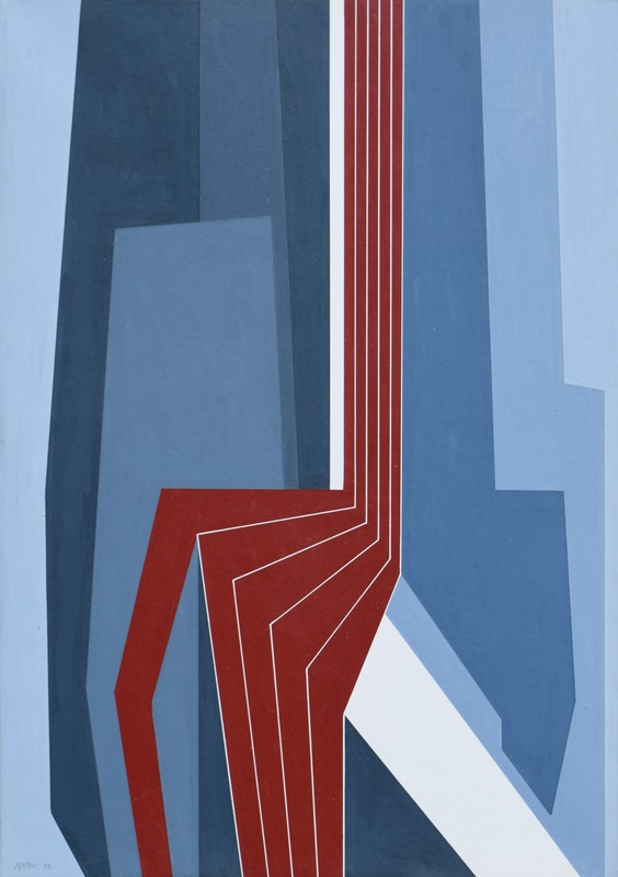 Gualtiero NATIVI - Pintura - Senza titolo
