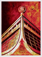 "Shepard FAIREY - Stampa Multiplo - ""Glass Houses"""