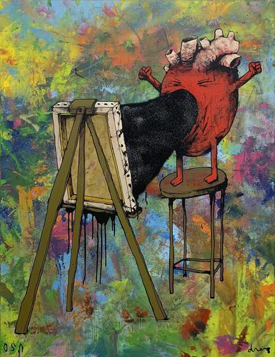 DRAN - Painting - Le Cri du cœur