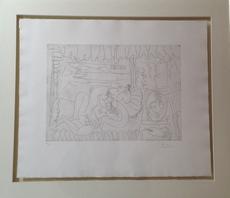 巴勃罗•毕加索 - 版画 - Suite 347