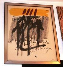 Antoni TAPIES - Peinture - Artistes de Catalunja