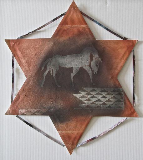 Francisco TOLEDO - 绘画 - Horse Star kite