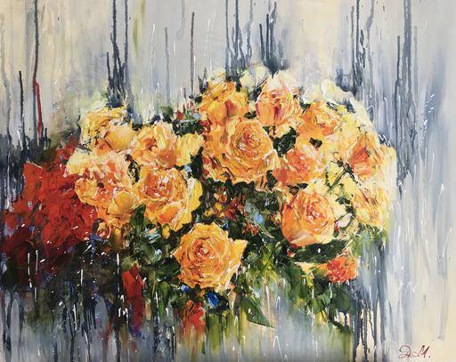 Diana MALIVANI - Pintura - Tea Roses