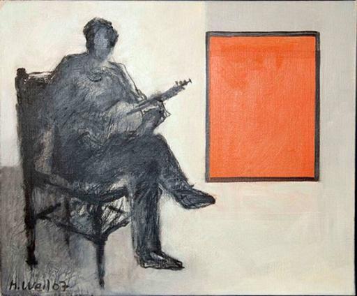 Manfred WEIL - Pittura - Gitarrist