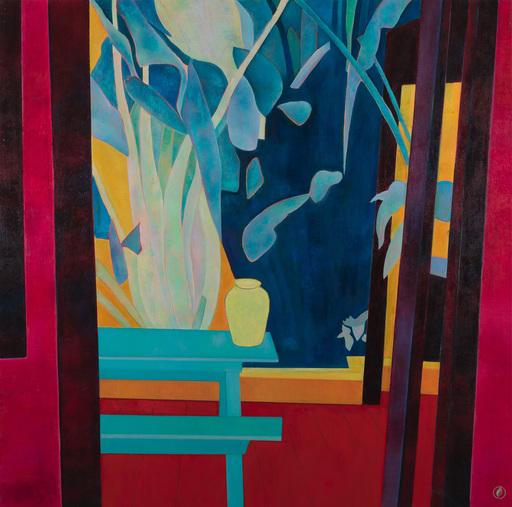 Marie-Pierre AUTONNE - Painting - Le vase jaune de Hoi An