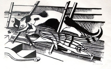 Gerhard MARCKS - Grafik Multiple - Die Katzen
