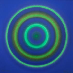 Peter SEDGLEY - Dibujo Acuarela - Green Orbits