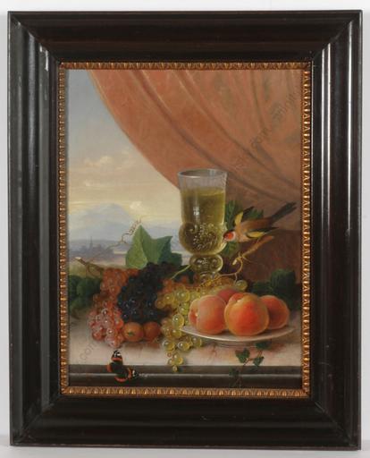 "Felix POLLINGER - Peinture - ""Fruit still-life"""