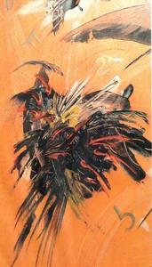 Didier ANGELS - Pintura - Samourai