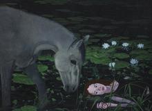 Vira YAKYMCHUK - Painting - The Time of Silence
