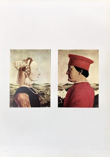 Claudio PARMIGGIANI - Estampe-Multiple - Bozzetto per Yang Yin
