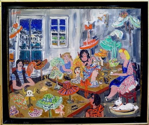 Jean-Pierre LAGRUE - Painting - La modiste