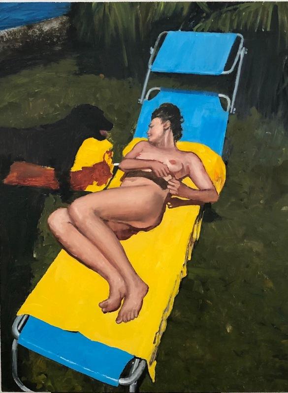 Daniele GALLIANO - Painting - untitled