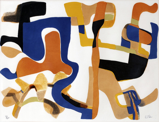 Maurice ESTEVE - Print-Multiple - L'accueil