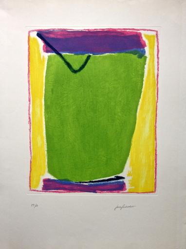 José GUERRERO - 版画 - Verde