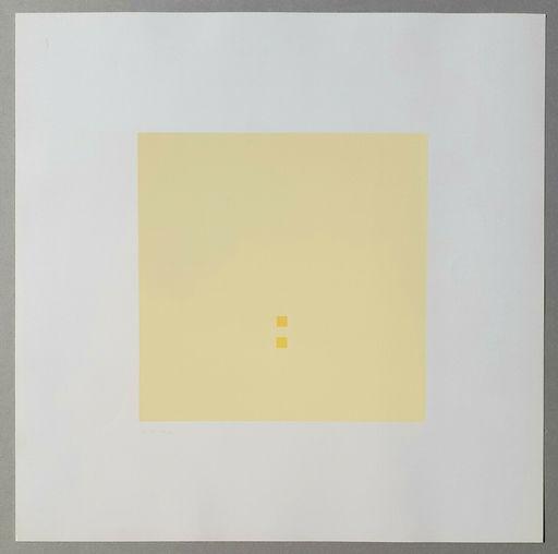 """Antonio CALDERARA - Print-Multiple - Luce spazio immagine"""" (Tav. 2)"""