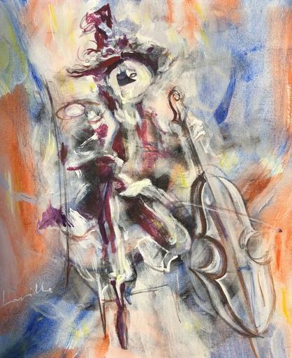 Henri LAVILLE - 绘画 - le violoncelliste
