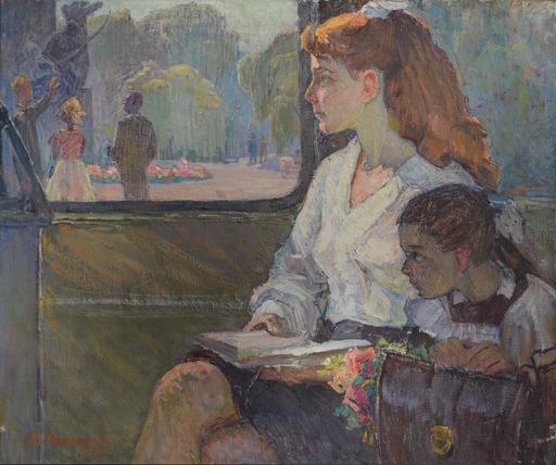 Grigoriy Andreevich MARINICHENKO - Pintura - September 1st