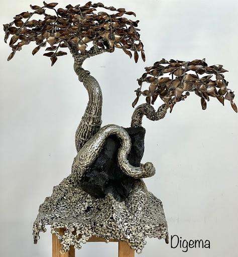 DIGEMA - Sculpture-Volume - Âme-Soeur (VENDUE)