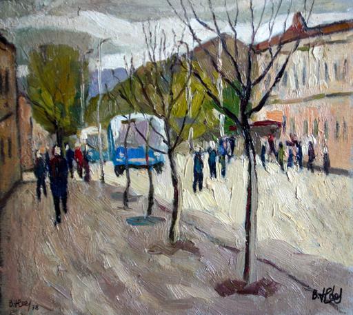 Valeriy NESTEROV - Painting - Saratov-2