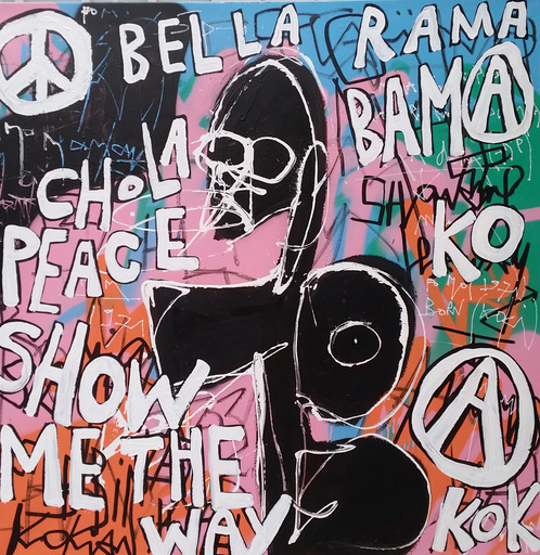 KOKIAN - Peinture - Bella Rama Bamako / Chola Peace