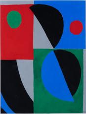 Sonia DELAUNAY-TERK - Grabado - Poesie des mots poésie des couleurs