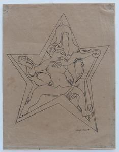 """Max ERNST - Print-Multiple - zu """"Freie Kunst und Literatur"""""""