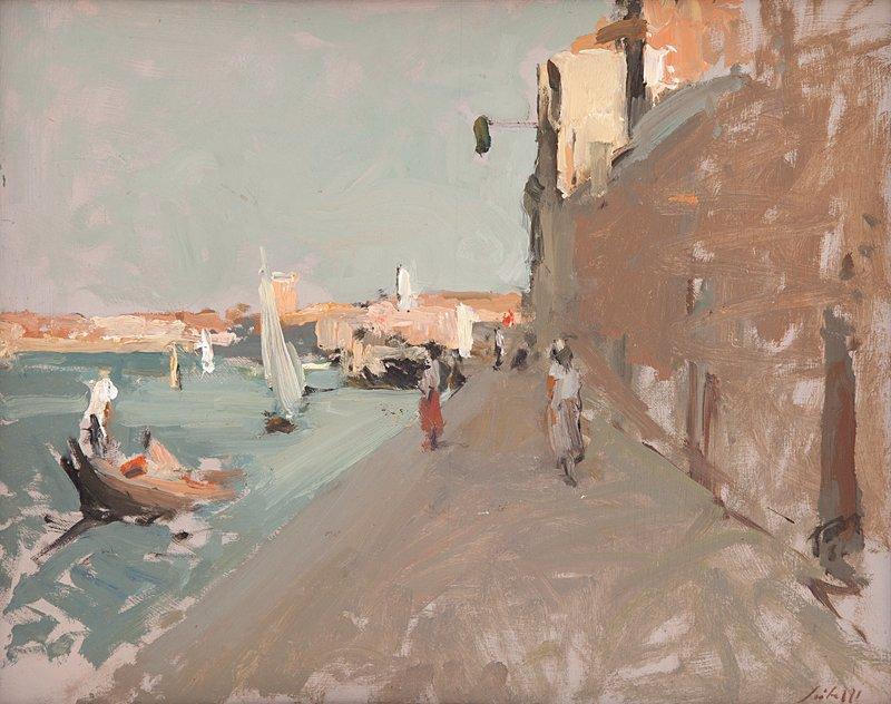 Fioravante SEIBEZZI - Peinture - Venezia