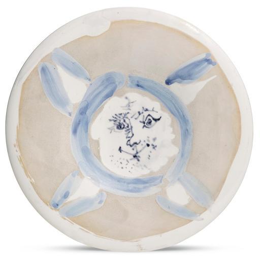 Pablo PICASSO - Ceramic - Visage n°72
