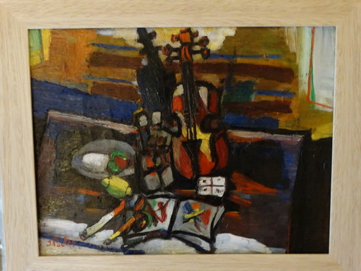 Isaac PAILES - Gemälde - Still life