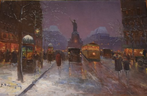 Paul Justin Marcel BALMIGERE - Pintura - Place de la Liberte