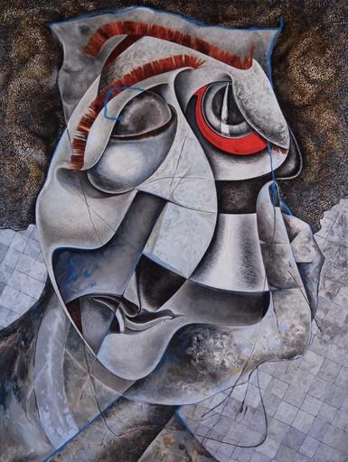 Sophie BOKSER - Painting - The sad man